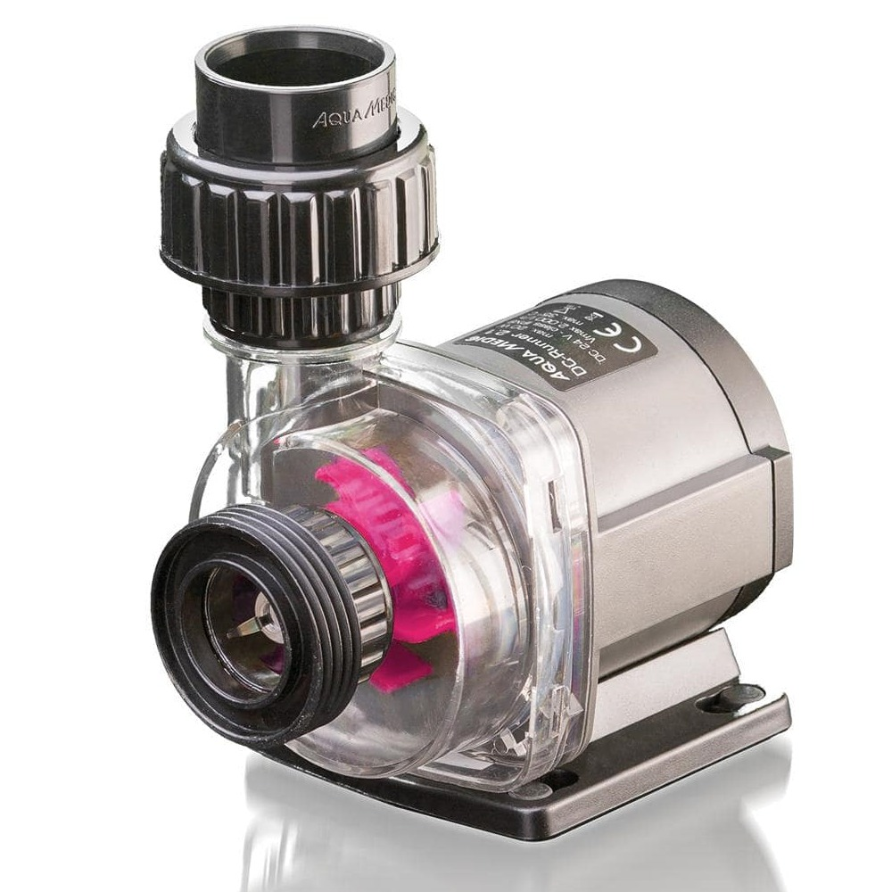 AQUA MEDIC DC Runner 1.3 Ultra Silent pompe 1200 L/h avec contrôleur pour aquarium d\'eau douce et d\'eau mer