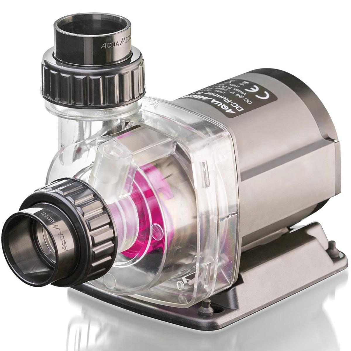 AQUA MEDIC DC Runner 5.3 Ultra Silent pompe 5000 L/h avec contrôleur pour aquarium d\'eau douce et d\'eau mer