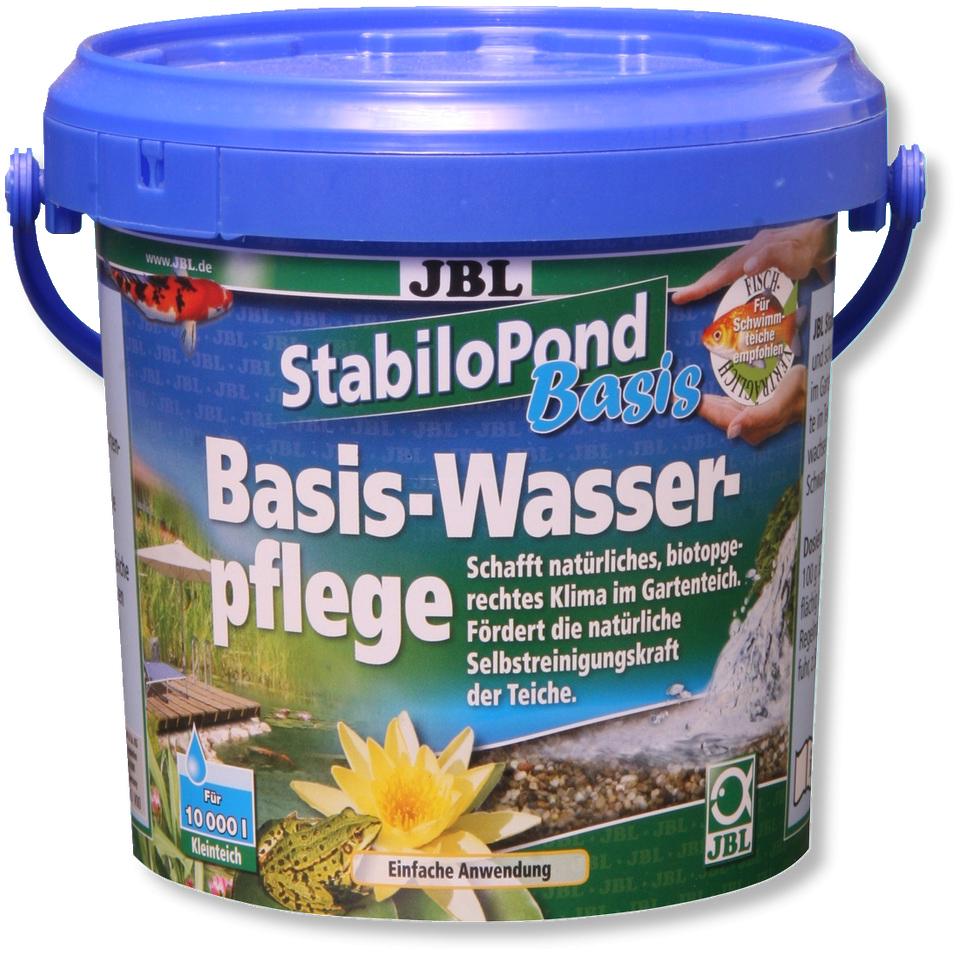 JBL StabiloPond Basis 1 KG produit d\'entretien pour tous les bassins de jardin