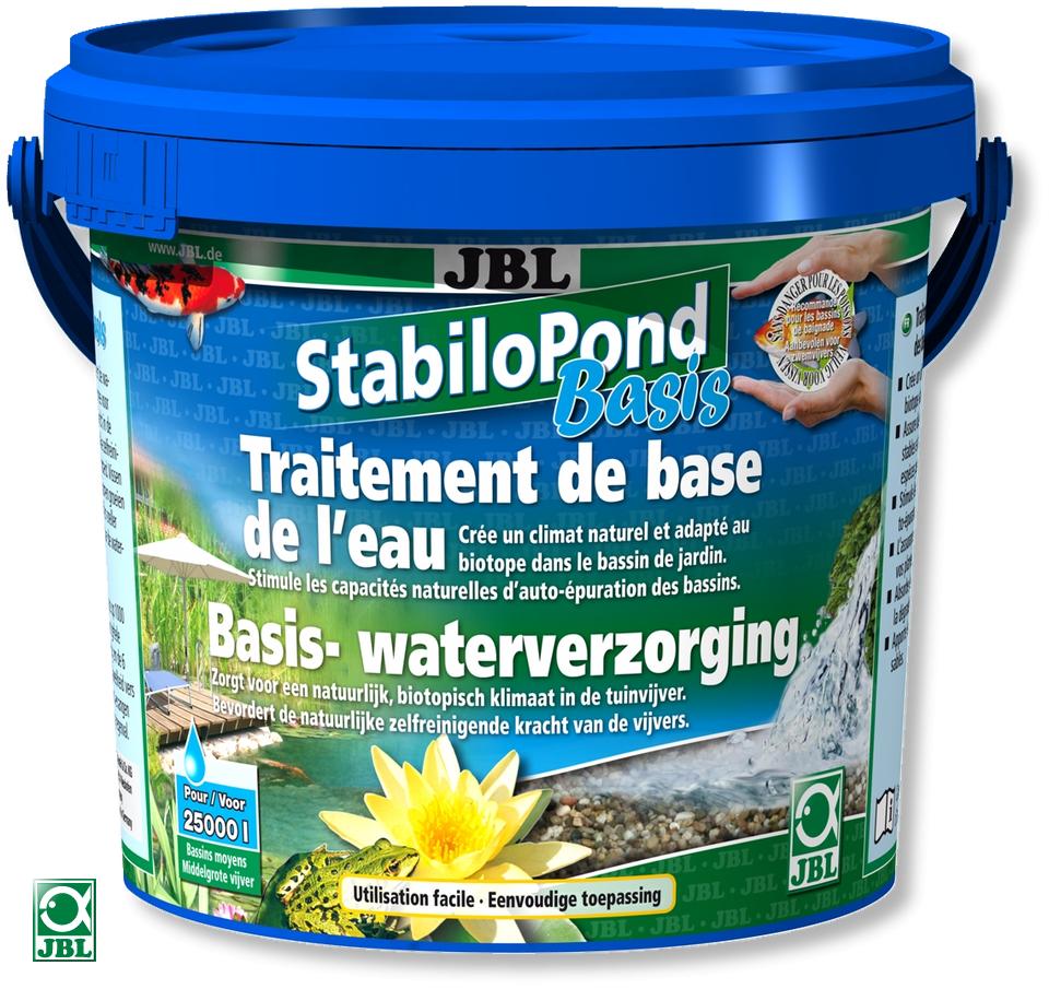 JBL StabiloPond Basis 10 KG produit d\'entretien pour tous les bassins de jardin