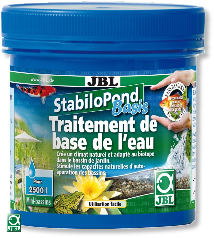 JBL StabiloPond Basis 250 gr. produit d\'entretien pour tous les bassins de jardin