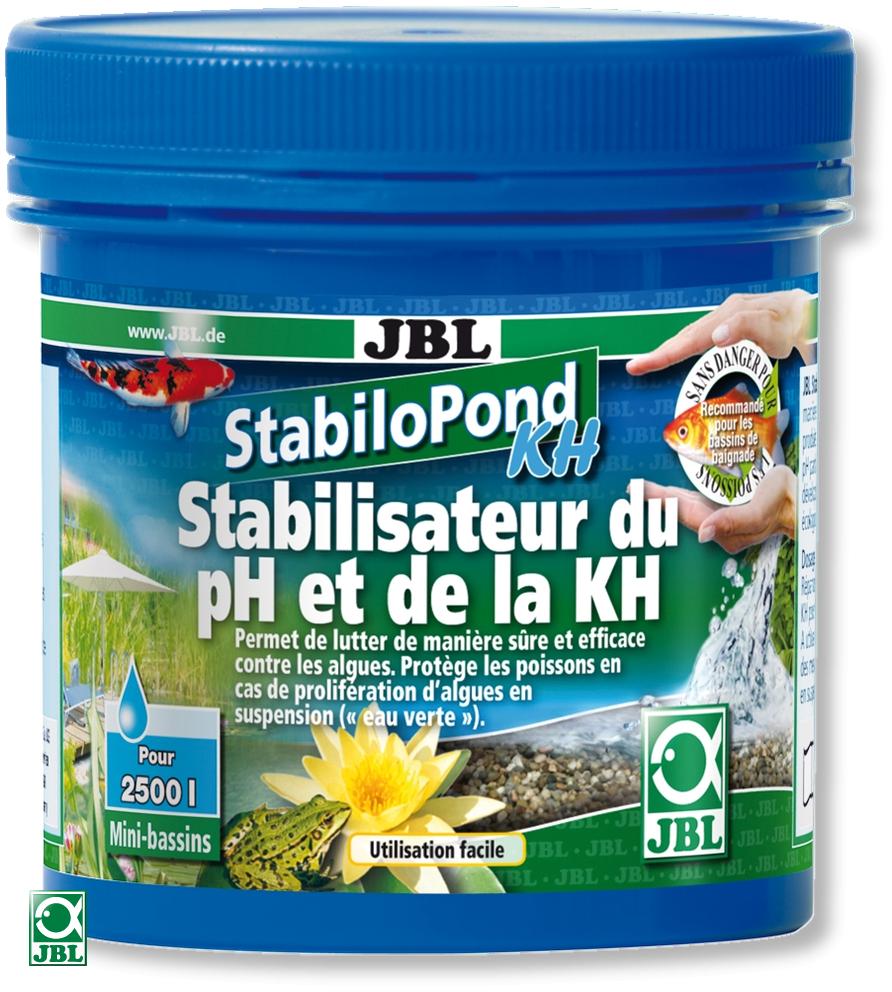 JBL StabiloPond KH 250 gr. stabilisateur de pH pour bassins de jardin