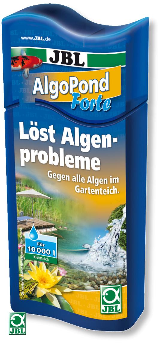 JBL AlgoPond Forte 250 ml produit contre les algues filamenteuses pour bassin jusqu\'à 5000 L