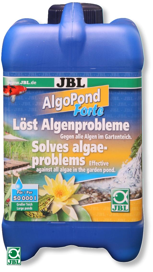JBL AlgoPond Forte 5 L produit contre les algues filamenteuses pour bassin jusqu\'à 100000 L