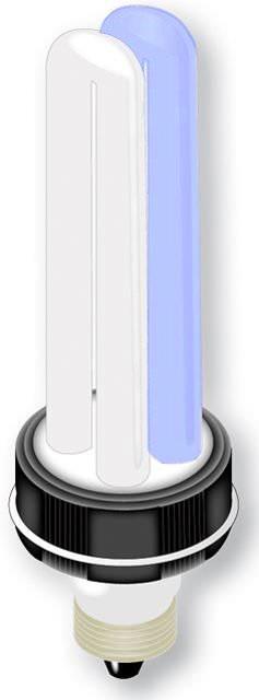 AMTRA Ampoule de remplacement Sea Power blanc 10000°k et bleu actinic pour lampe AMTRA Cosmos 13w Eau de mer
