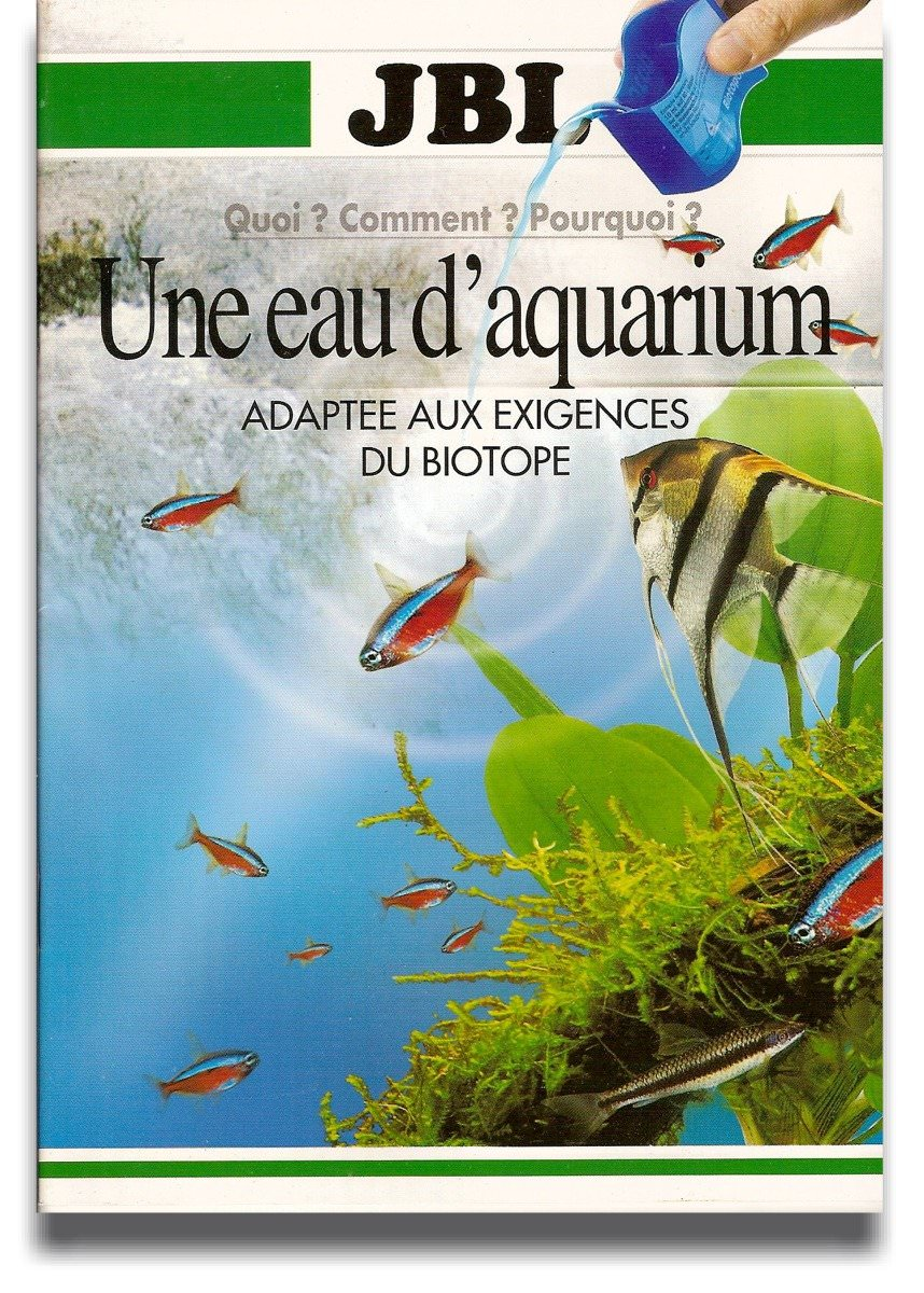 Livre eau aquarium