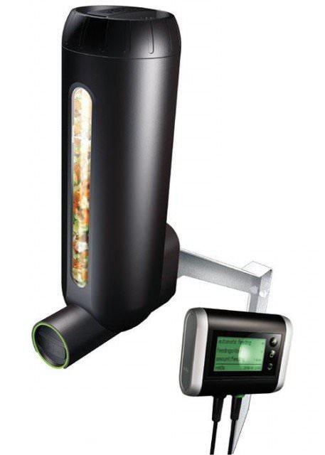 VELDA Fish Feeder Pro 3L distributeur de nourriture à gestion elélectronique pour bassins de jardin