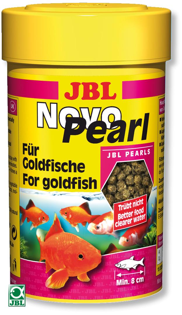 Jbl novopearl 100 ml nourriture en perles pour poissons for Nourriture poisson rouge voile de chine