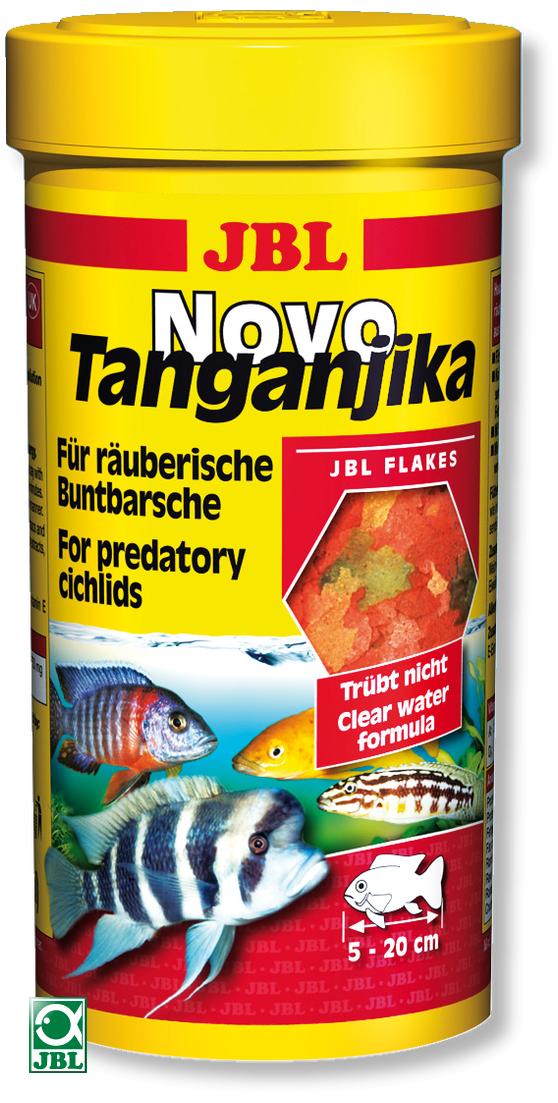 JBL NovoTanganjika 250 ml flocons spécial cichlidés des lacs Tanganyika et Malawi