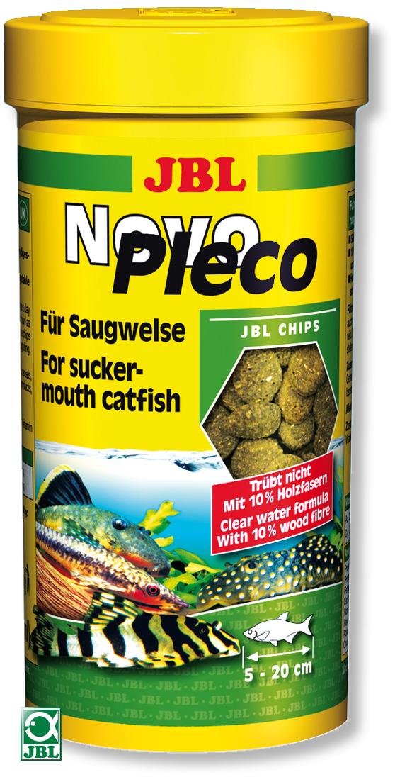 JBL NovoPlecoChips 100 ml chips d\'algues à base de fibre de bois destinées aux Loricaridés