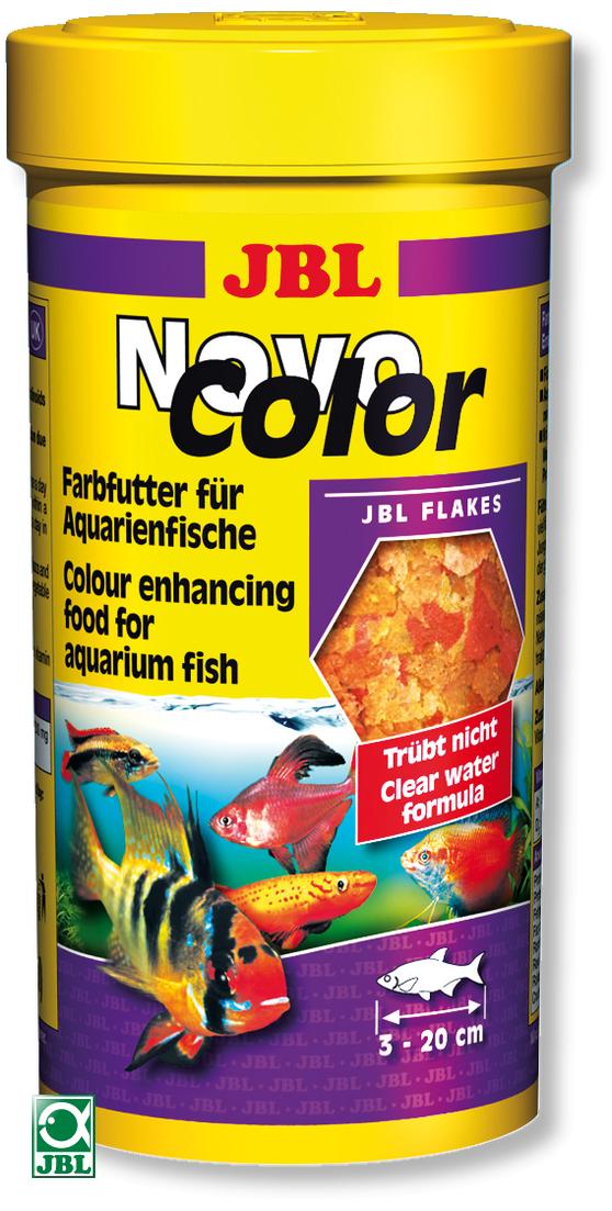 JBL NovoColor 100 ml nourriture en paillettes pour renforcer l\'éclat des couleurs