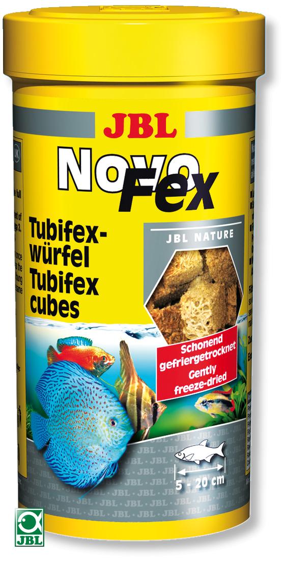 JBL NovoFex 100 ml cubes de tubifex lyophilisés sous vide