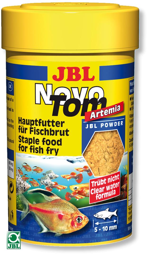 JBL NovoTom Artemia 100 ml nourriture pour alevins