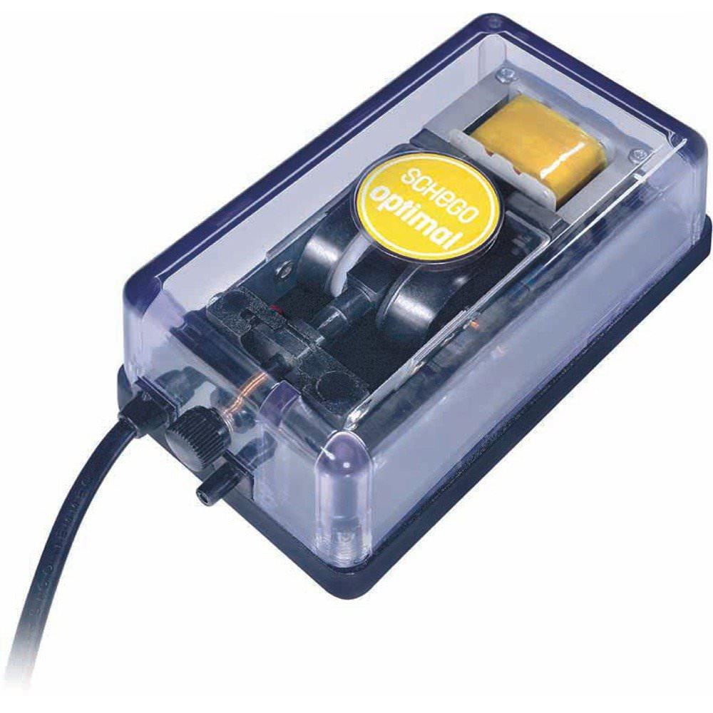 SCHEGO Optimal 250 pompe à air haute de qualité avec régulateur de débit jusqu\'à 250 L/h