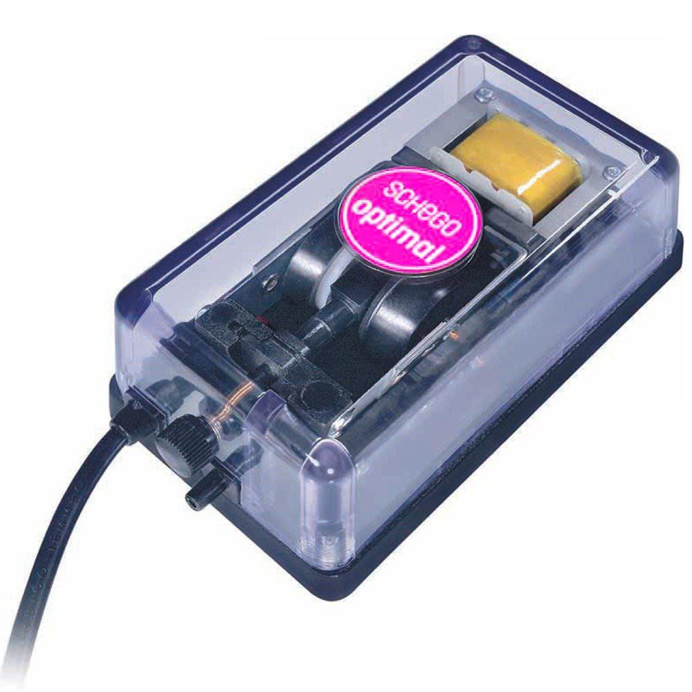 SCHEGO M2K3 pompe à air haute de qualité avec régulateur de débit jusqu\'à 350 L/h
