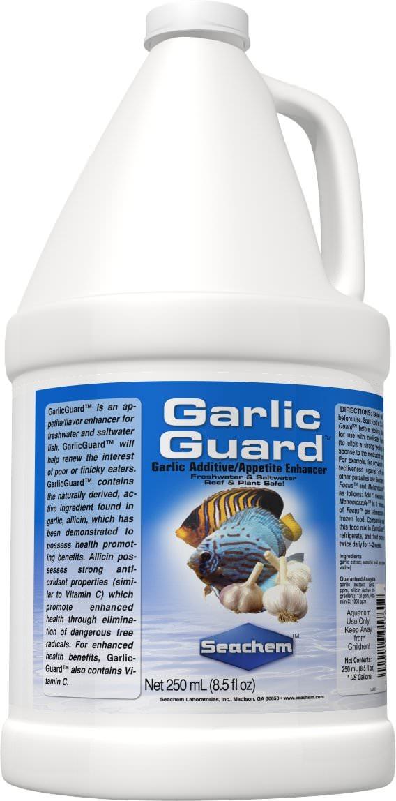 SEACHEM GarlicGuard 2 L accélérateur d\'appétit à base d\'ail pour les poissons difficiles à nourrir
