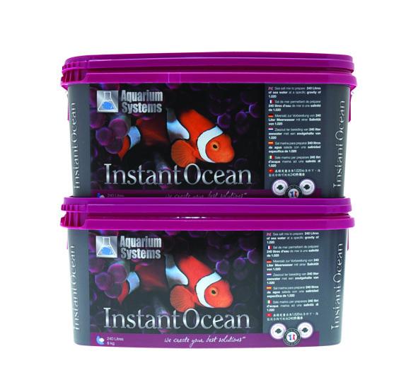 Instant Ocean 8kg x2 face