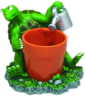 EE922 Turtle Water Can Planter