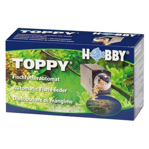 Hobby toppy distributeur automatique de nourriture for Alimentation automatique aquarium