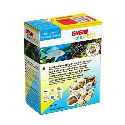EHEIM bioMech 2L masse de filtration mécanique / biologique pour le traitement très efficace de l\'eau de l\'aquarium
