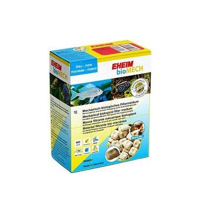 EHEIM bioMech 1L masse de filtration mécanique / biologique pour le traitement très efficace de l\'eau de l\'aquarium