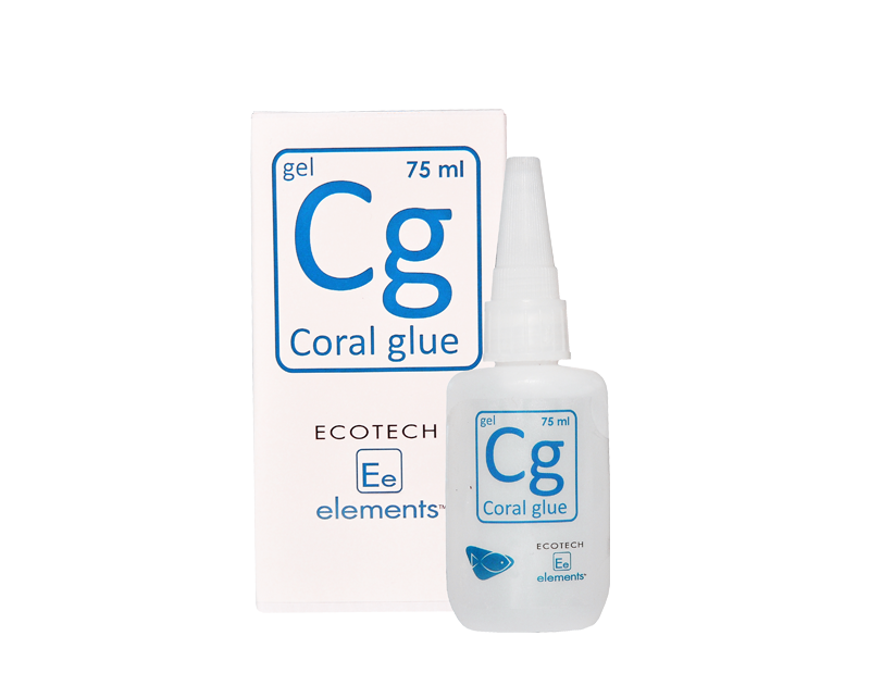 ECOTECH MARINE Coral Glue 75ml pour le collage facile et rapide de vos boutures de corail