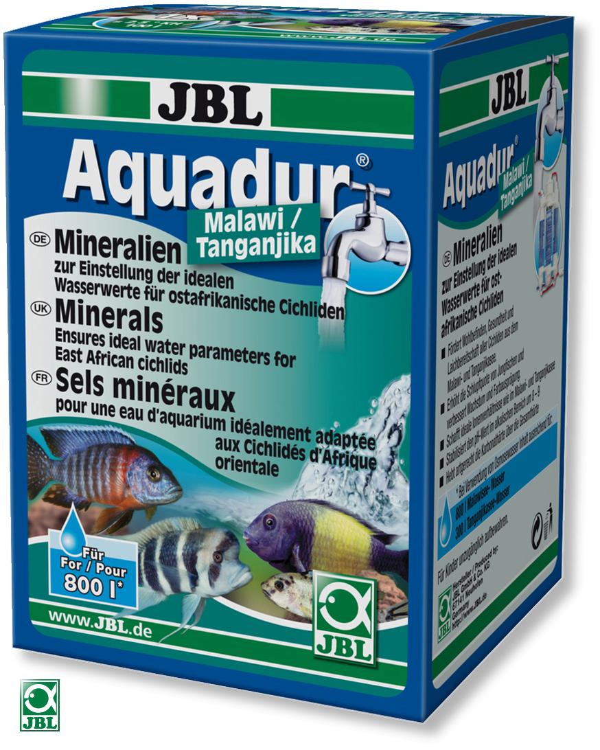 JBL AquaDur Malawi/Tanganyika sels minéraux pour les cichlidés d\'Afrique orientale