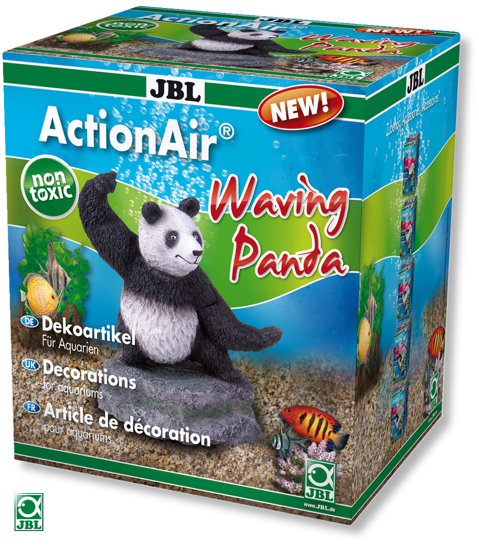 JBL ActionAir Waving Panda diffuseur original créant un mouvement du Panda au passage de l\'air