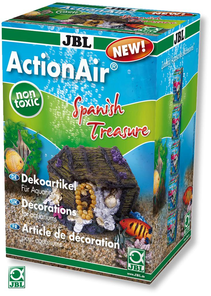 JBL ActionAir Spanish Treasure diffuseur original créant l\'ouverture d\'un coffre au trésor au passage de l\'air