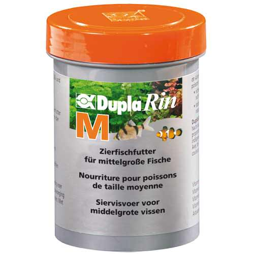 DUPLA Rin M 180ml nourriture en granulées pour poissons d\'eau douce et d\'eau de mer de taille moyenne