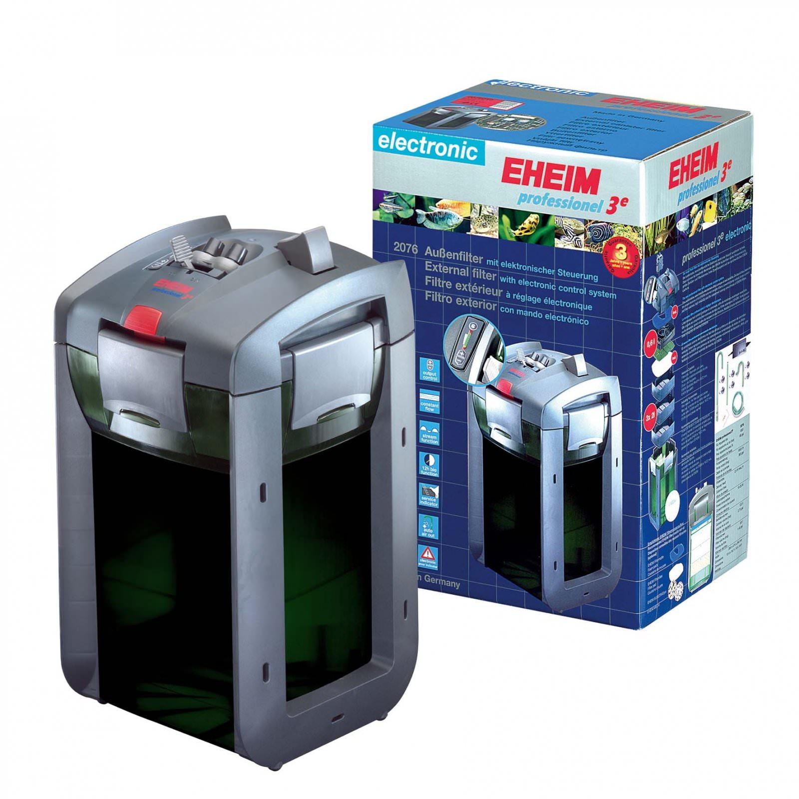 EHEIM 2076 Professionel 3e 450 filtre externe électronique pour aquarium jusqu\'à 400L