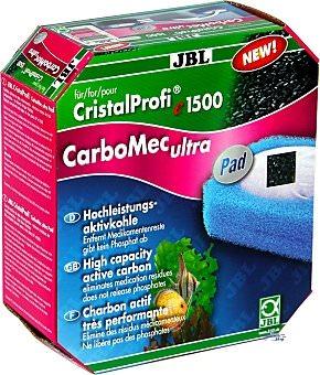 JBL CarboMec ultra charbon actif pour filtres externes CristalProfi e1500, e1501, e1901, e1502, e1902