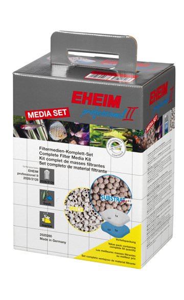 EHEIM MediaSet kit complet de masses filtrantes pour filtre Professionel 2 2028, 2128