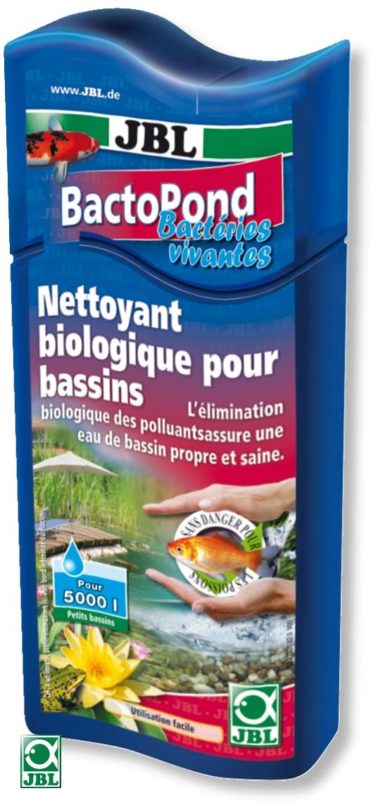 JBL BactoPond 250 ml favorise l\'auto-épuration biologique grâce à la présence de bactéries. Traite jusqu\'à 5000 L