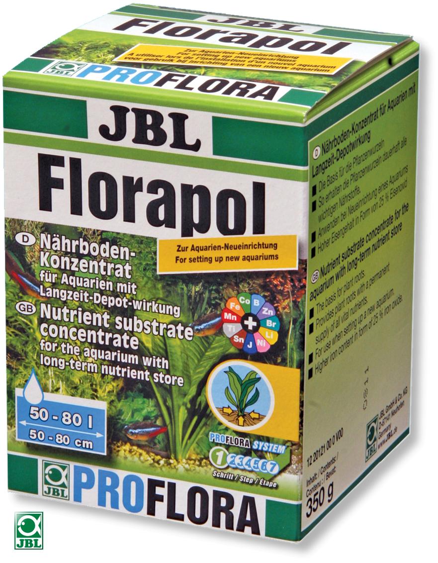JBL Florapol 350 gr. engrais concentré à action prolongée pour aquarium de 50 à 100 litres.