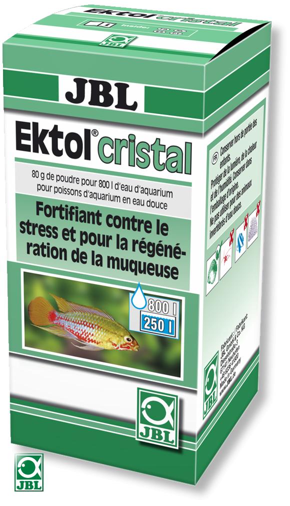 JBL Ektol cristal 80gr traite jusqu\'à 800 litres d\'eau contre les parasites et les mycoses