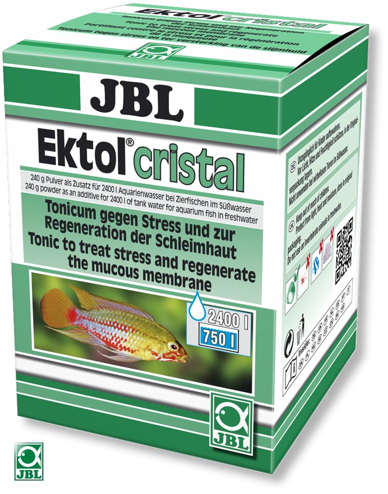 JBL Ektol cristal 240gr traite jusqu\'à 2400 litres d\'eau contre les parasites et les mycoses