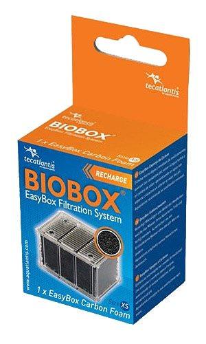 AQUATLANTIS EasyBox Cartouche charbon taille XS pour filtre Mini Biobox 1 et 2