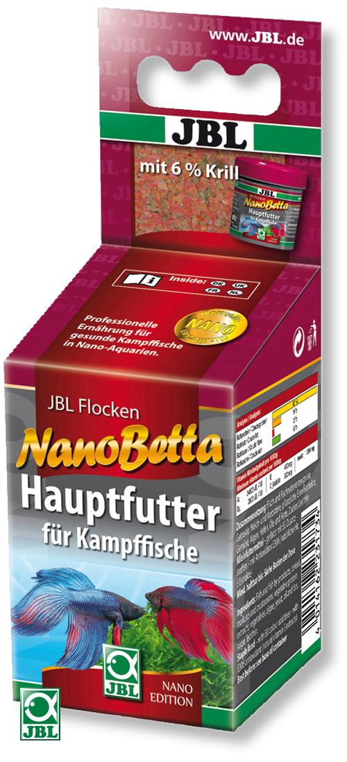 JBL NanoBetta 60 ml aliment principal en flocons pour combattants en nano-aquariums
