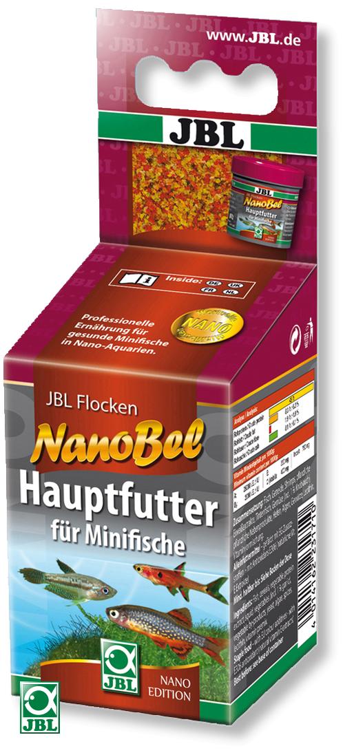 JBL NanoBel 60 ml aliment principal en flocons pour petits poissons en nano-aquariums