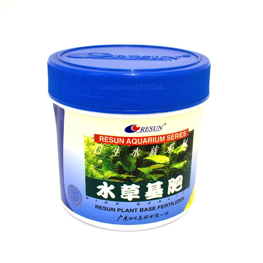RESUN Plant Base Fertilizer 500gr engrais de fond action 18 à 24 mois pour aquarium de 60 à 80cm.