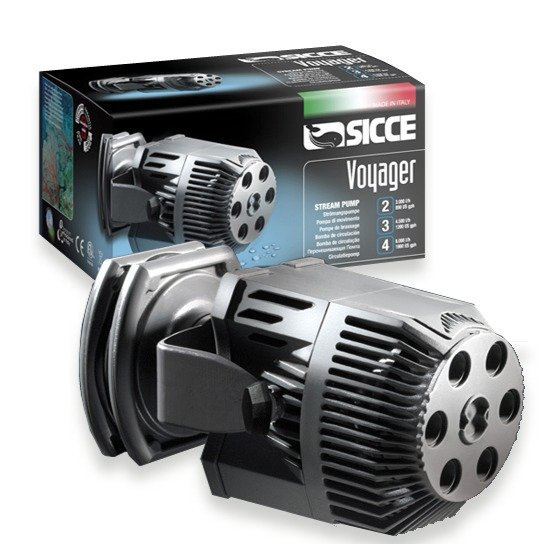 Sicce voyager 2 pompe de brassage 3000 l h pour aquarium for Boutique aquariophilie