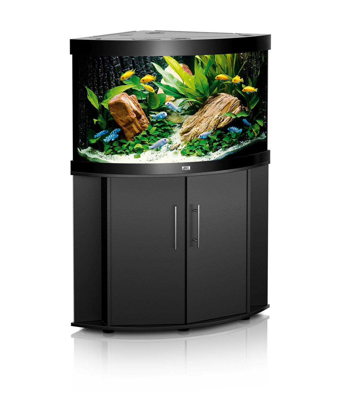 aquarium juwel trigon 190 dim 99 x 70 x 60 cm 190 litres coloris au choix avec ou sans meuble. Black Bedroom Furniture Sets. Home Design Ideas