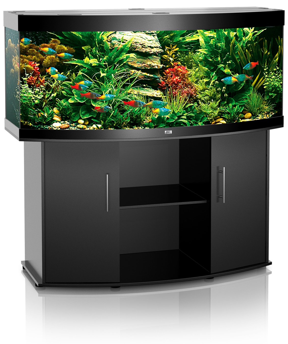 aquarium juwel vision 450 dim 151 x 61 x 64 cm 450 litres coloris au choix avec ou sans meuble. Black Bedroom Furniture Sets. Home Design Ideas