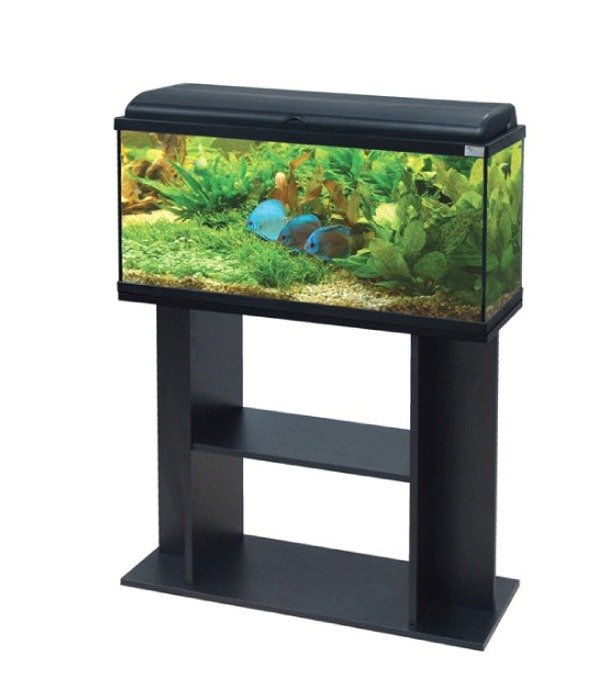 aquatlantis aquadream 80 noir aquarium tout quip dim 80 x 30 x 45 cm 90 litres avec ou sans. Black Bedroom Furniture Sets. Home Design Ideas