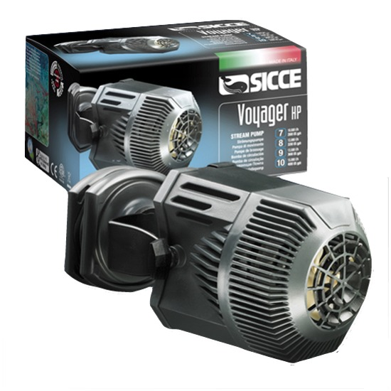 SICCE Voyager HP 10 pompe de brassage 15000 L/h pour aquarium marin et d\'eau douce jusqu\'à 2000L