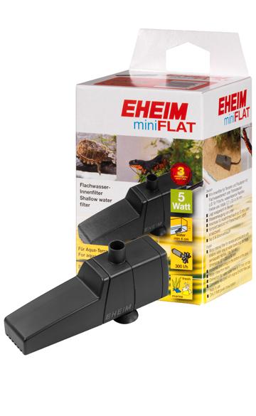 EHEIM 2203 miniFlat filtre interne à fonctionnement horizontale pour terrariums et paludariums avec moins de 30L d\'eau