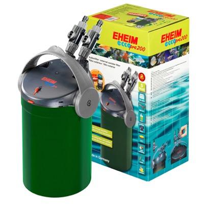EHEIM Ecco Pro 200 filtre externe avec masse et mousses filtrantes aquarium entre 100 et 200L