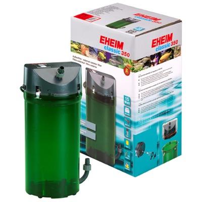 EHEIM Classic 2215 filtre externe pour aquarium entre 120 et 350L avec mousses filtrantes et doubles robinets
