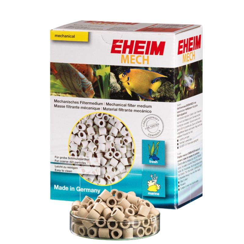 EHEIM Mech 2L réduit la quantité de matières en suspension dans le filtre
